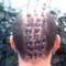 szilveszteri frizura