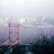 Az épülő Erzsébet híd, 1960-as évek