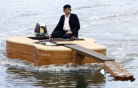 gitár hajó