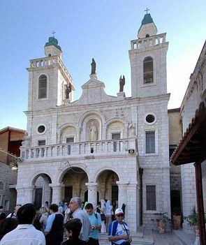 Menyegző temploma Kafr Kanna-ban