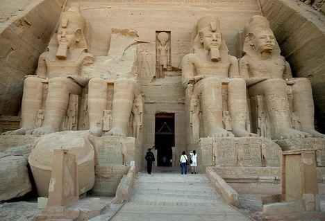 Abu Simbel nagy templom