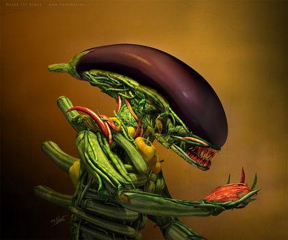alien saláta:)