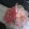 harisnya virág kosárba
