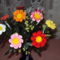 Horgolt virág 073