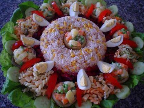 tésztás-rizses saláta