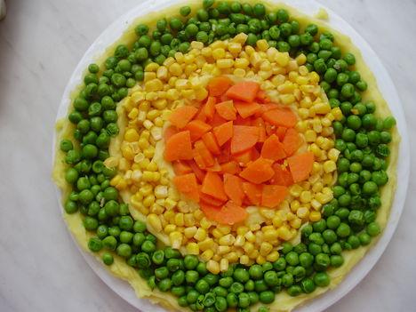 zöldséges kokárda