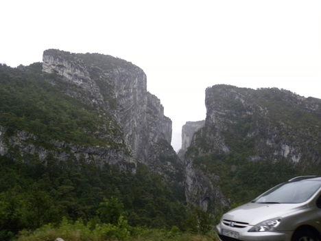 Verdon-kanyon (esőben) 5