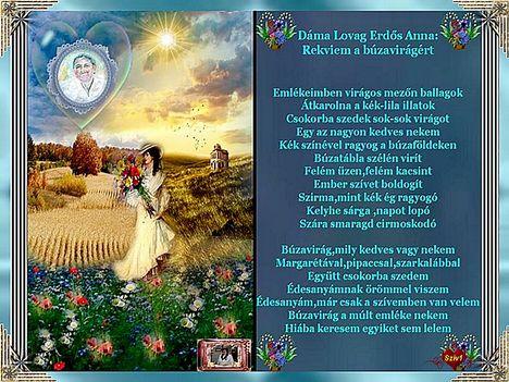 Rekviem a búzavirágért  .:Dáma Lovag Erdős Anna