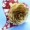 szív quilling virágokkal
