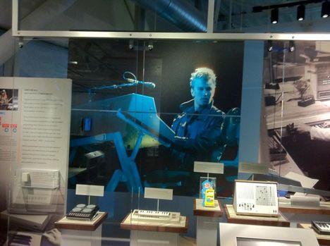 Alan Wilder poszter- Apple Museum,USA