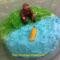 Horgász torta- citromkrémes