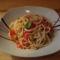 Olívás-paradicsomos spagetti
