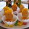 Húsvéti kis csibék piskótából