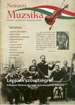 Nemzeti Muzsika – kiadvány a nótakedvelő magyarság számára