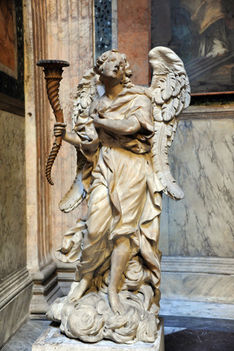Baroque angel, Pantheon