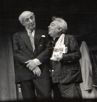 Feleki Kamill és Balázs Samu