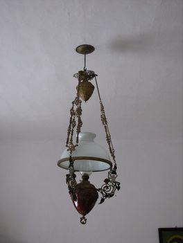 luster lámpa