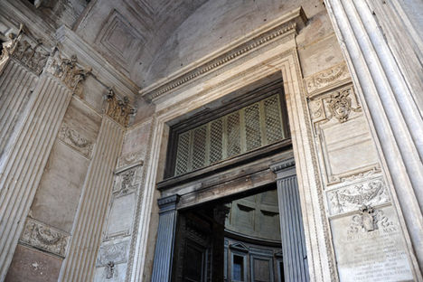 Northern Portal of the Pantheon