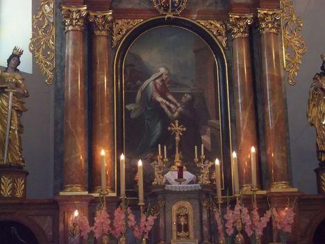 Rőtfalvai Nagyboldogasszony templom oltárképe