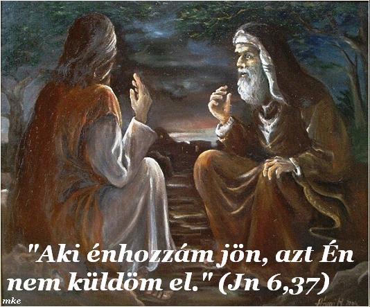 Jézus és Nikodemus beszélgetése