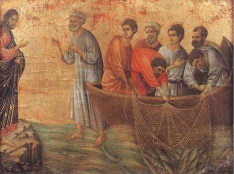 Jézus megjelenése a Tibériás tavánál