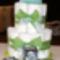 Pelenka torta+fényképes kocka