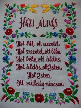HÁZI ÁLDÁS