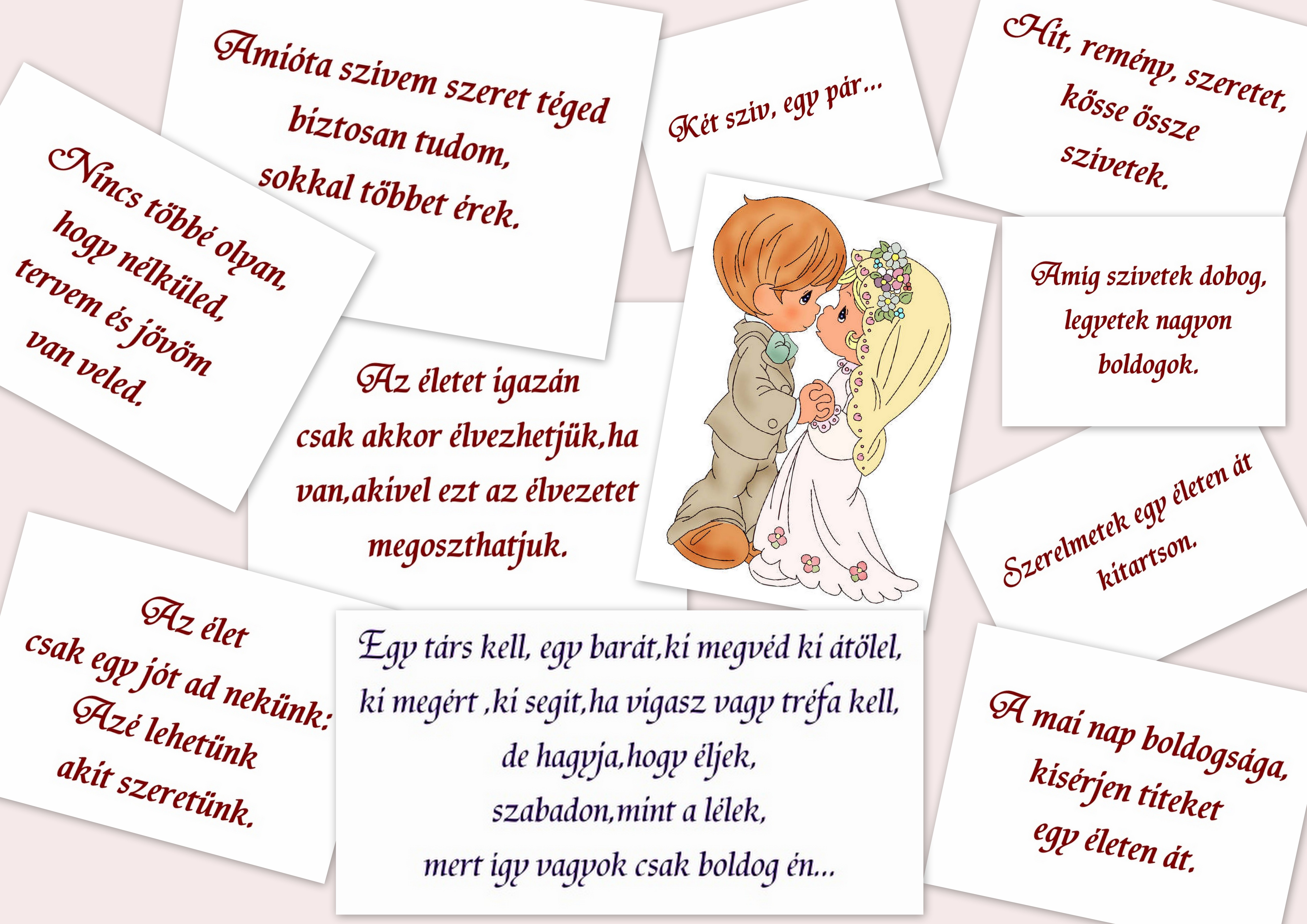 35fac32ba0 Otthon dekor: Esküvő....csak egy kis idézet.... (kép)