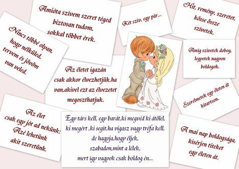 Esküvő....csak egy kis idézet....