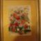 Gosztonyiné Nusika-Virágcsokor vázában az első Tűgobelin munkája