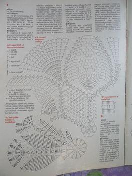 horgolt terítő minták 3