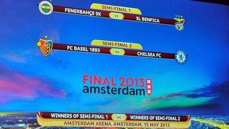 Európa Liga Döntőbe jutásért