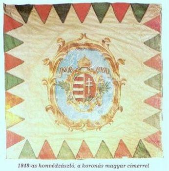 1848as honvédzászló
