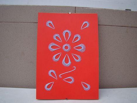 Ajándék ötlet, fonalgrafika, faliképek, kézimunka, olcsó  7