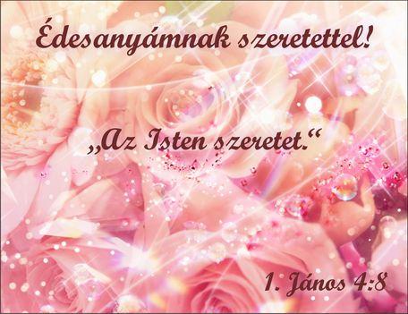 Drága Édesanyánkra emlékezünk. Ma van a Születésnapja. Adjon az Úr örök Nyugodalmat Neki . Ámen.