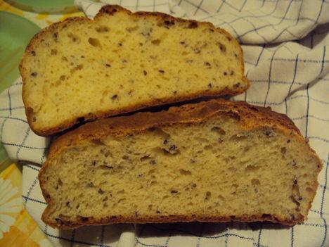 Sütőporos gyors kenyér 1. - szeletelve