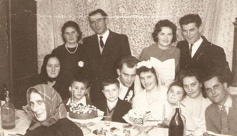 Szakály Mária- Giczi Jenő lakodalma