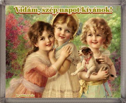 Vidám szép napot kívánok!