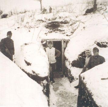 Zászlóaljparancsnoki fedezék Don kanyar