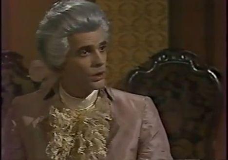 Márk László - Mozart szerepében