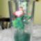 Virág pohárban rózsa