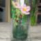 virág pohárban,vadrózsa