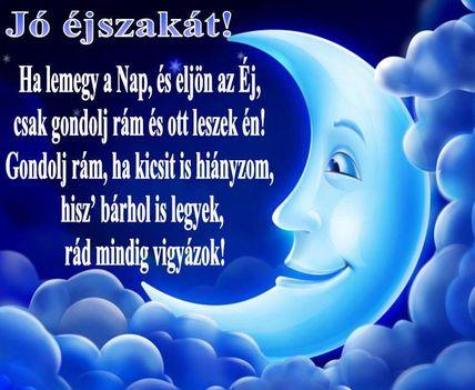 Jó éjszakát szép álmokat mindenkinek !