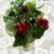piros rózsa csokor