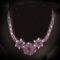 lila csipke fűzött nyakék 1