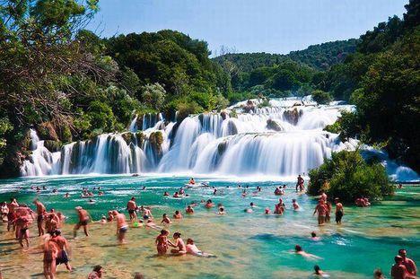 Skradinski Buk, Krka Nemzeti Park, Horvátország