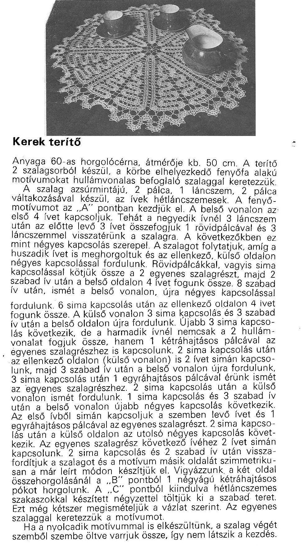 Magyar kőtės minta
