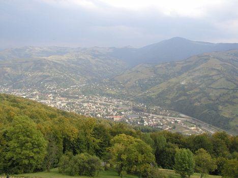 Rahó-Rakhiv-látképe
