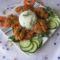 Rántott csirke máj