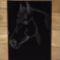 Ló fekete